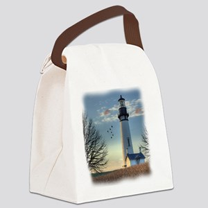 Sunset_Lighthouse Canvas Lunch Bag