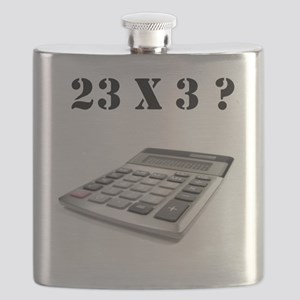 23 x 3? Flask