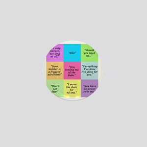 Labyrinth Quotes Mini Button