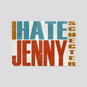 Hate Jenny L Word Rectangle Magnet