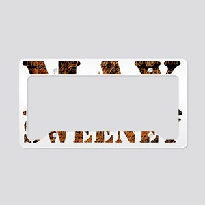 L Word Max Sweeney Quotes License Plate Holder