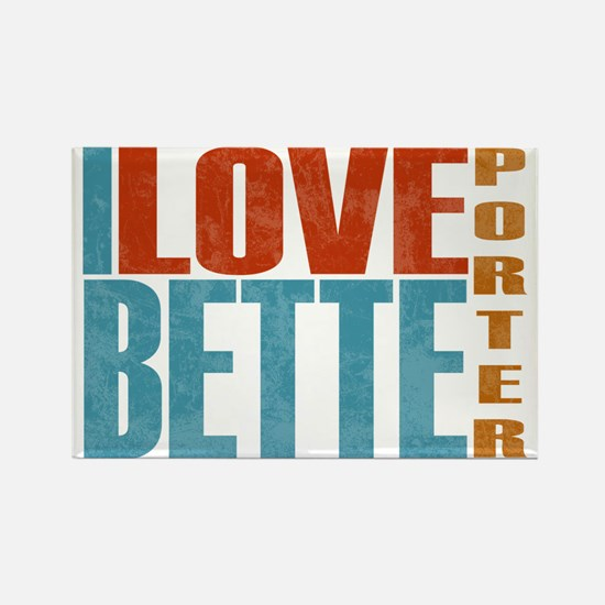 Bette Porter L Word Rectangle Magnet