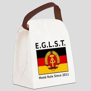 EGLST logo punctuation strapline  Canvas Lunch Bag