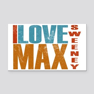 Max Sweeney L Word Rectangle Car Magnet