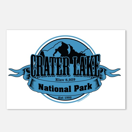 crater lake 3 Postcards (Package of 8)