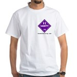 Hazardous Vanity White T-Shirt