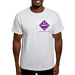 Hazardous Vanity Ash Grey T-Shirt