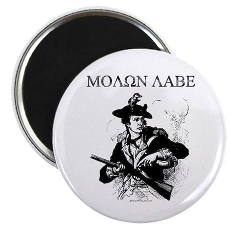 "Molon Labe Minuteman 2.25"" Magnet (100 pack)"