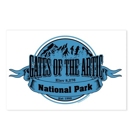 gates of the artic 2 Postcards (Package of 8)