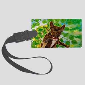 Dog King Mira Slava Wall Decal Large Luggage Tag