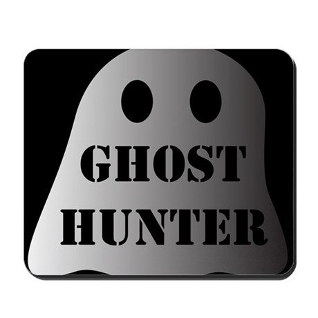 Ghost Hunter (Black) Mousepad
