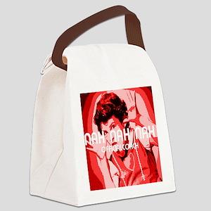 Nah Nah Nah Canvas Lunch Bag