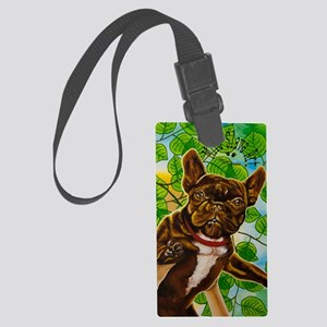Dog King Mira Slava high Large Luggage Tag