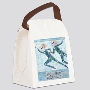 Star Sign Gemini square Canvas Lunch Bag