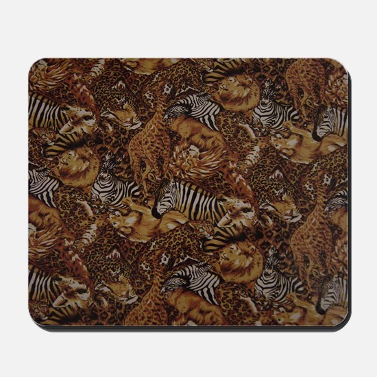 ANIMAL SAFARI JUNGLE PATTERN Mousepad