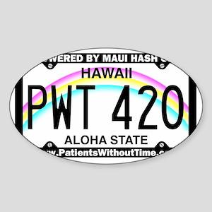 PWT 420 Sticker (Oval)