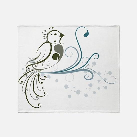 Put a Bird On It Throw Blanket