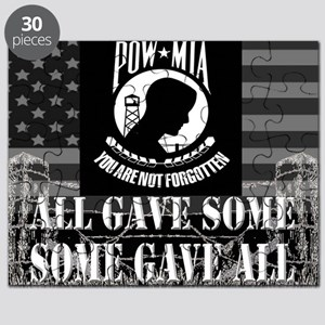 Pow-Mia All Gave Some Some Gave All Puzzle