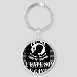 Pow-Mia All Gave Some Some Gave All Round Keychain