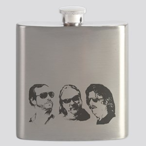 FOB Sound Company transparent logo with memb Flask