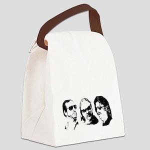 FOB Sound Company transparent log Canvas Lunch Bag