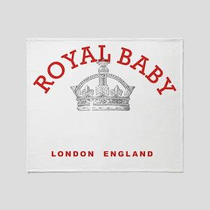 Royal Baby Celebration Throw Blanket