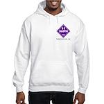 Hazardous Sloth Hooded Sweatshirt