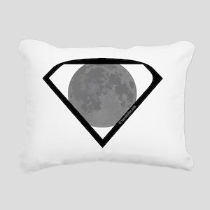 Supermoon Rectangular Canvas Pillow