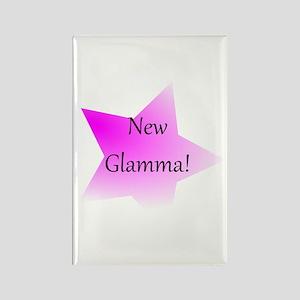 New Glamma! Rectangle Magnet