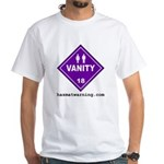 Hazardous Vanity White T-Shirt