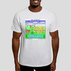 Ants Meet Aliens Light T-Shirt