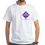 Hazardous Sloth White T-Shirt