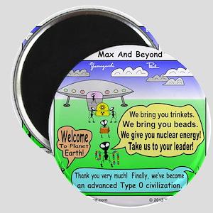 Ants Meet Aliens Magnet