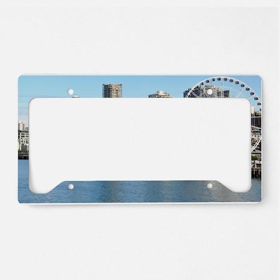 Seattle_5x3rect_sticker_Seatt License Plate Holder