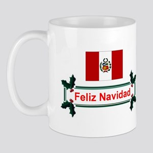 Peru Feliz Navidad Mug