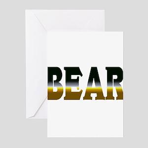 Bear Pride Bear Greeting Cards (Pk of 10)