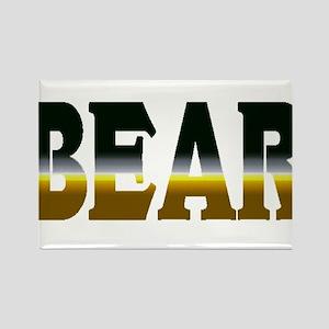 Bear Pride Bear Rectangle Magnet