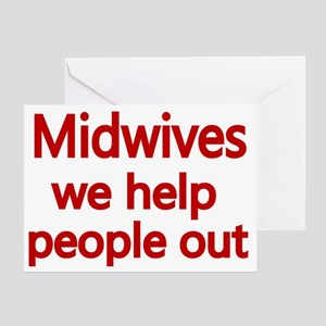 Midwives Greeting Card