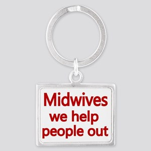 Midwives Landscape Keychain