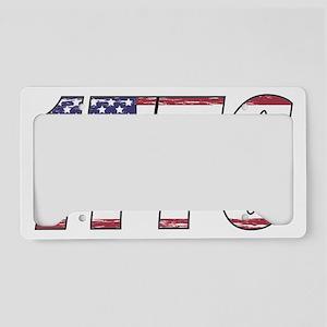 1776 Flag License Plate Holder