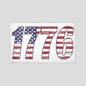 1776 Flag 3'x5' Area Rug