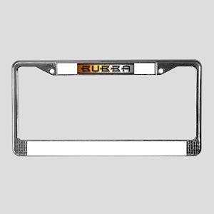 bubbabearu License Plate Frame