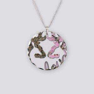 country love Necklace Circle Charm