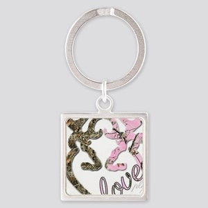 country love Square Keychain