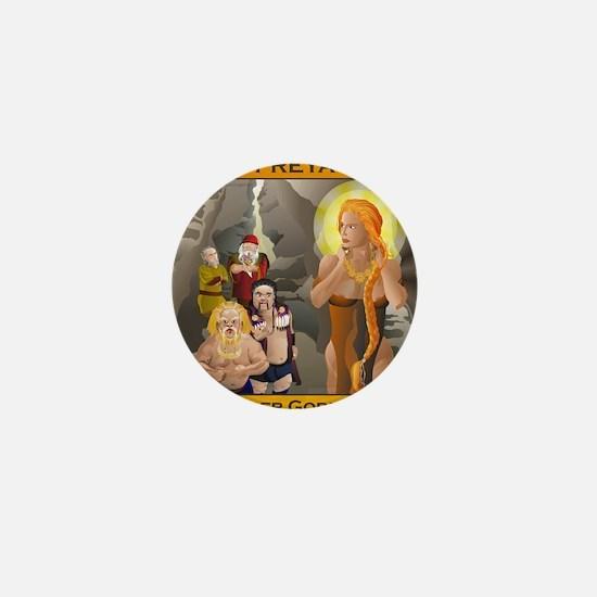 FREYA Amber Goddess Mini Button