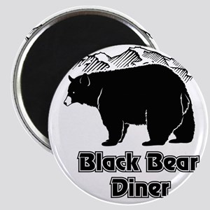 Black Bear Logo Magnet