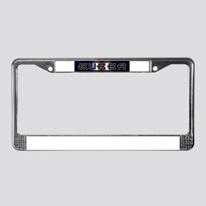 leather pride bubba bear License Plate Frame