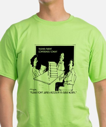 Dont Judge a Book By Its Curse Words T-Shirt