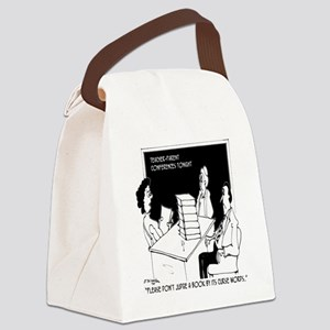 Dont Judge a Book By Its Curse Wo Canvas Lunch Bag