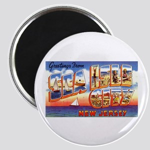 Sea Isle City New Jersey Magnet